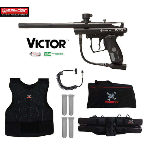 Spyder Victor Sergeant Paintball Gun Package