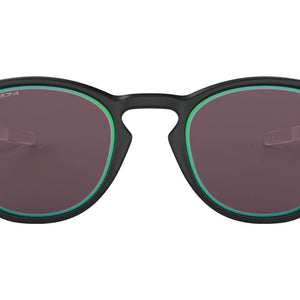 Oakley Latch Borderline Men's Sunglasses - Matte Black Fade w/ Prizm Grey / Jade Alt Iridium Lens
