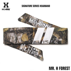 HK Army Paintball Headband - Signature Series - Mr. H Forest - PaintballDeals.com