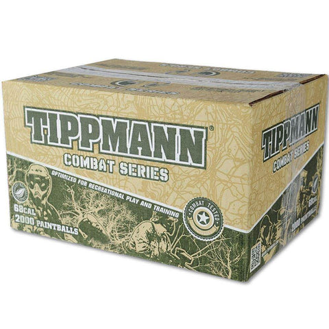 Tippmann Combat .68 Caliber Paintballs - Shell will Vary - Yellow Fill