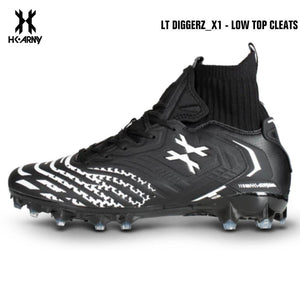 HK Army LT Diggerz_1 Low Top Paintball Cleats - Black/White