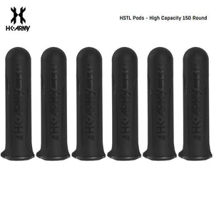 HK Army HSTL 150 Round Paintball Pods 6 Pack - PaintballDeals.com