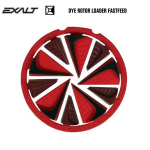 Exalt Dye Rotor LT-R Paintball Hopper Loader FastFeed - Red - PaintballDeals.com
