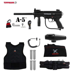Tippmann A-5 Sergeant Paintball Gun Package