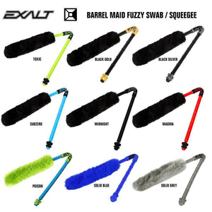 Exalt Paintball Barrel Maid Fuzzy Swab Squeegee - PaintballDeals.com