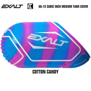 Exalt 68-72 Cubic Inch Compressed Air HPA Paintball Tank Cover - Cotton Candy - PaintballDeals.com