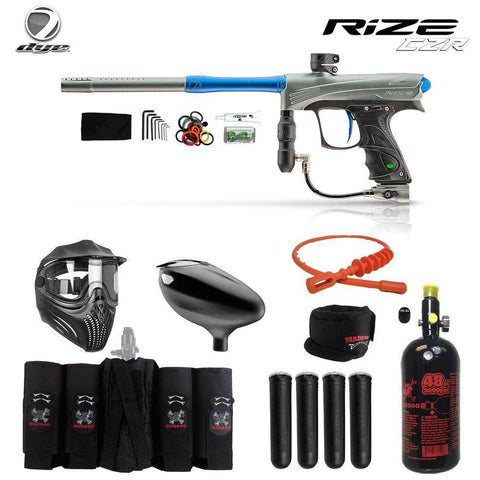 Dye Rize CZR Maddog Elite HPA Paintball Gun Package