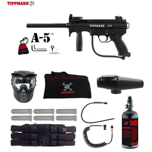 Tippmann A-5 Corporal HPA Paintball Gun Package