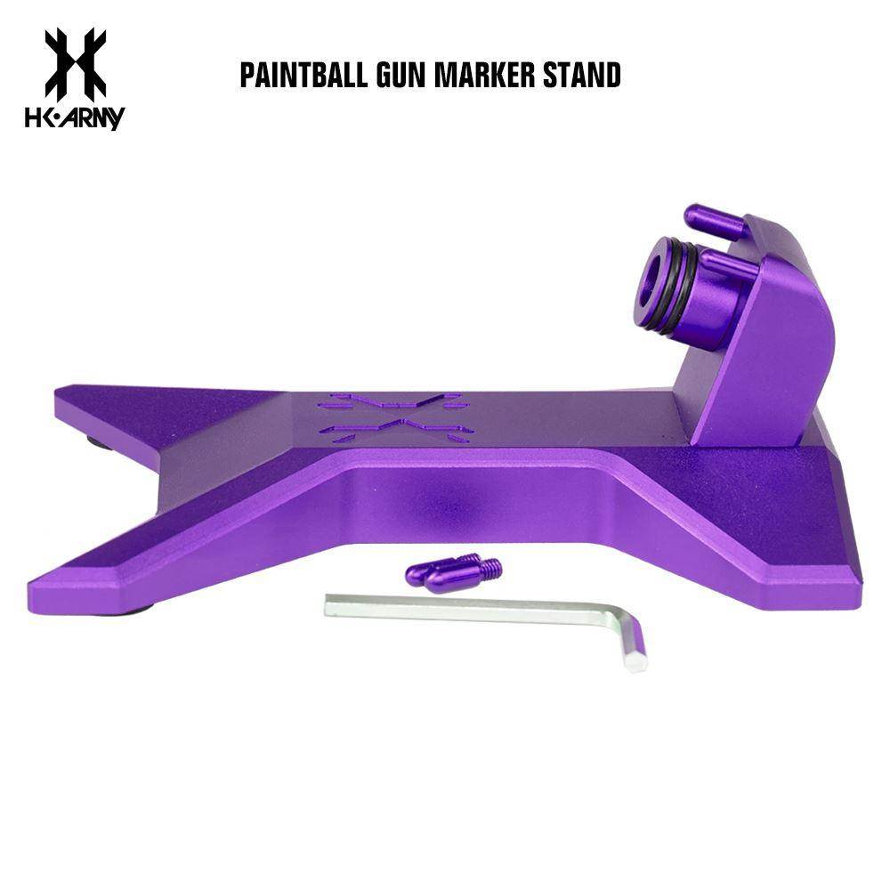 HK Army Paintball Gun Marker Stand - Purple - PaintballDeals.com