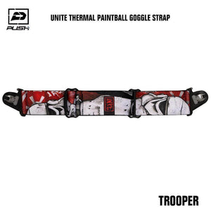Push Unite Paintball Goggle Mask Strap - Stormtrooper - PaintballDeals.com