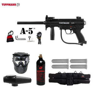Tippmann A-5 Starter CO2 Paintball Gun Package