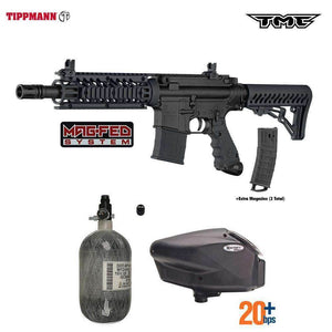 Tippmann TMC MAGFED HPA Paintball Gun Package C