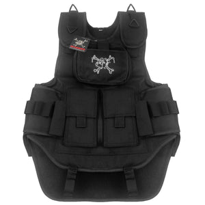 Maddog Tactical Paintball Vest - Stealth Black
