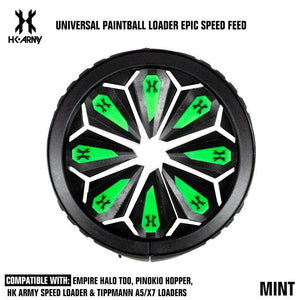 HK Army Universal Paintball Loader Epic Speed Feed - Arctic - PaintballDeals.com