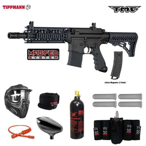 Tippmann TMC MAGFED  Elite CO2 Paintball Gun Package