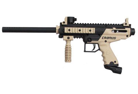 Tippmann Cronus Tactical HPA Red Dot Paintball Gun Package