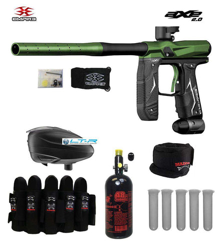 Empire Axe 2.0 Paintball Gun & Accessory Combo Package