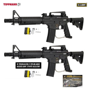 Tippmann U.S. Army Alpha Black Elite Tactical Paintball Gun