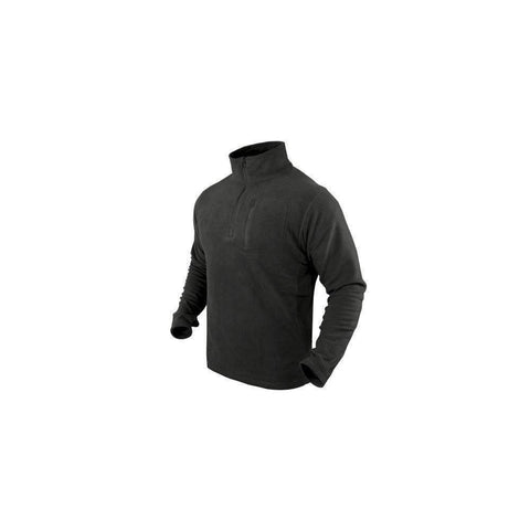 CLEARANCE - Condor Tactical Quarter Zip Pullover OPEN BOX - Black - X-Large
