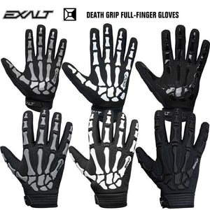 Exalt Death Grip Full-Finger Tactical Paintball Gloves