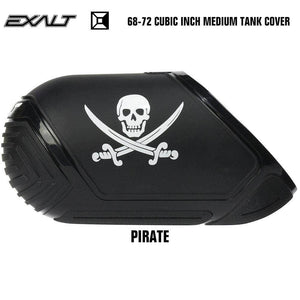 Exalt 68-72 Cubic Inch Compressed Air HPA Paintball Tank Cover - Pirate - PaintballDeals.com