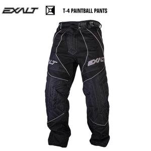Exalt T4 Paintball Pants - Black - PaintballDeals.com