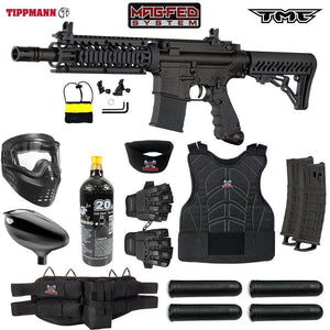 Maddog Tippmann TMC MAGFED Protective Paintball Gun Starter Package
