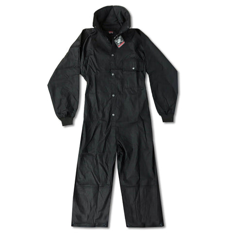 Maddog Tactical Paintball Rip Stop Coverall Jumpsuit - Black - Large - OPEN BOX