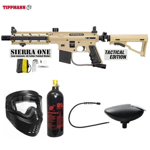 Maddog Tippmann Sierra One Bronze Paintball Gun Package