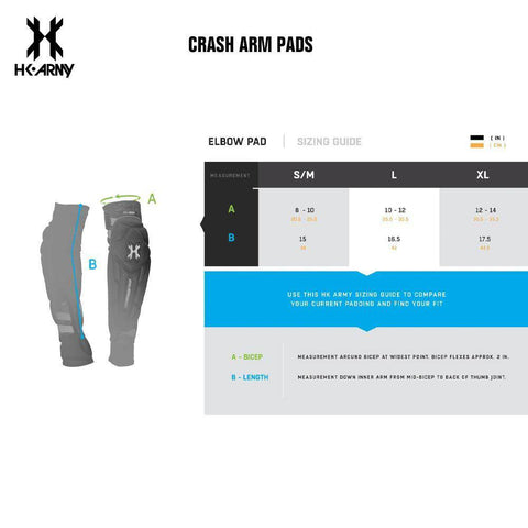 HK Army Paintball Crash Arm Pad - PaintballDeals.com