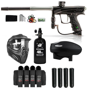 Maddog Dye Rize CZR Advanced HPA V-Max+ Paintball Gun Package