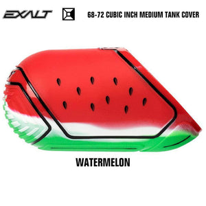 Exalt 68-72 Cubic Inch Compressed Air HPA Paintball Tank Cover - Watermelon - PaintballDeals.com