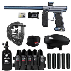 Empire Mini GS Paintball Gun with Maddog HPA V-Max+ Accessory Combo Package