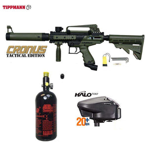 Tippmann Cronus Tactical HPA Paintball Gun Package