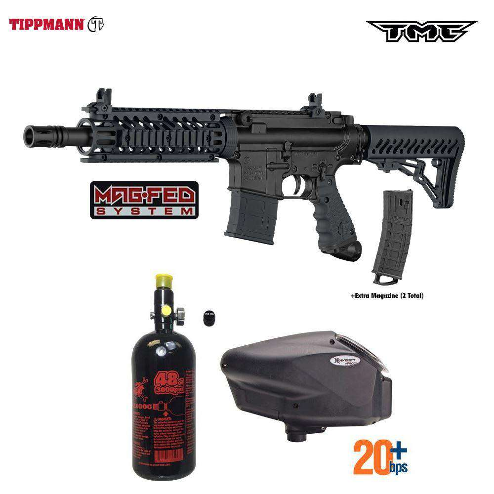 Tippmann TMC MAGFED HPA Paintball Gun Package A