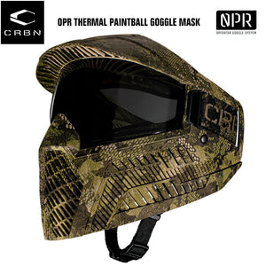 Carbon OPR Operator Thermal Paintball Goggles Mask - Camo