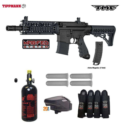 Tippmann TMC MAGFED Advanced Paintball Gun Package