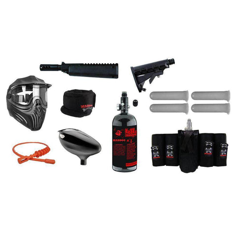 Maddog All-In-One Paintball Gun Accessory Package Starter Kit