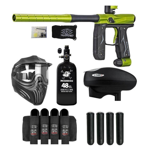 Maddog Empire Axe 2.0 Advanced HPA V-Max+ Paintball Gun Package