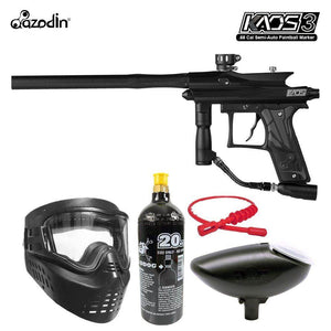 Maddog Azodin Kaos 3 Bronze Paintball Gun Marker Starter Package
