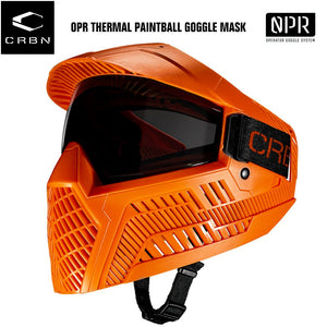Carbon OPR Operator Thermal Paintball Goggles Mask - Orange