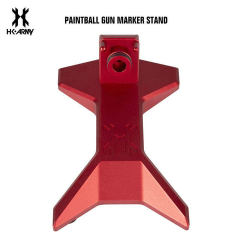 HK Army Paintball Gun Marker Stand - Red - PaintballDeals.com