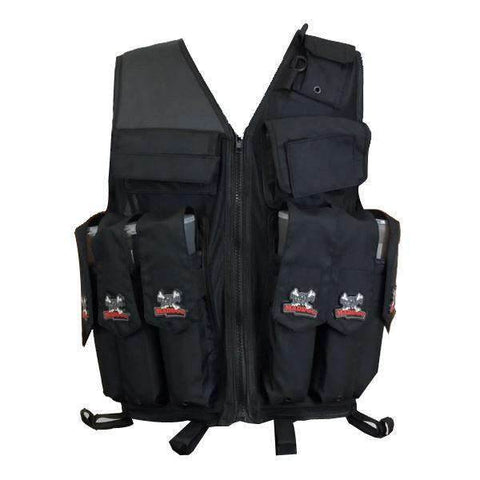 Maddog Tactical Attack Vest with Pods & Standard Remote Coil Paintball Package
