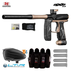 Empire Axe 2.0 Paintball Gun + Dye LT-R Loader & Pro Harness Combo Package