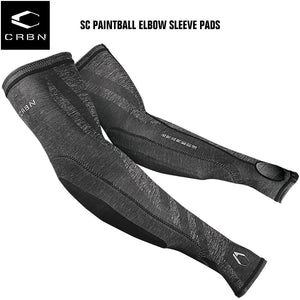 Carbon CRBN SC Paintball Elbow Pads Sleeve