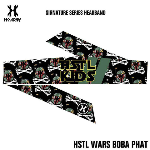 HK Army Paintball Headband - Signature Series - HSTL Wars Boba Phat - PaintballDeals.com