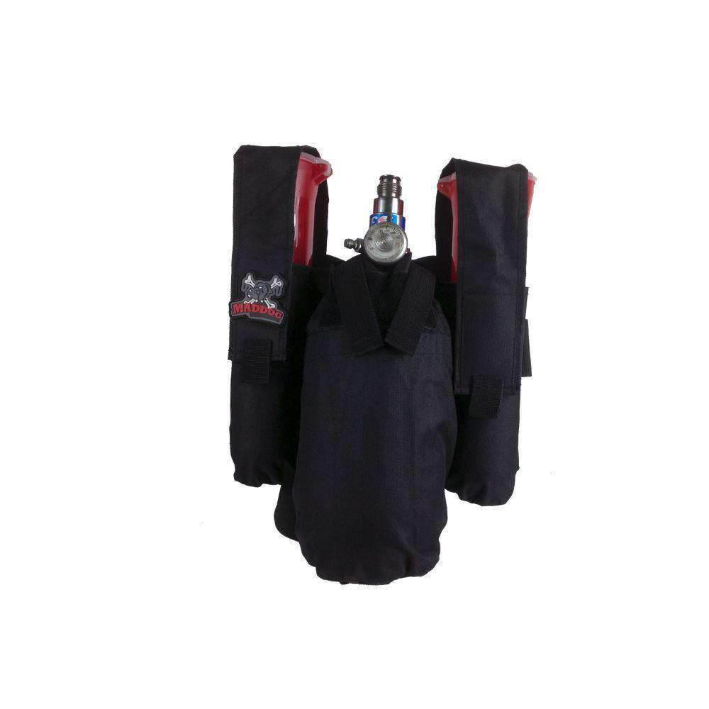 Maddog  2+1 Paintball Harness - Black