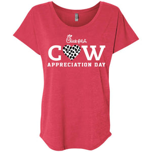 [Front & Back]Chick Fil a Cow Appreciation Day shirt