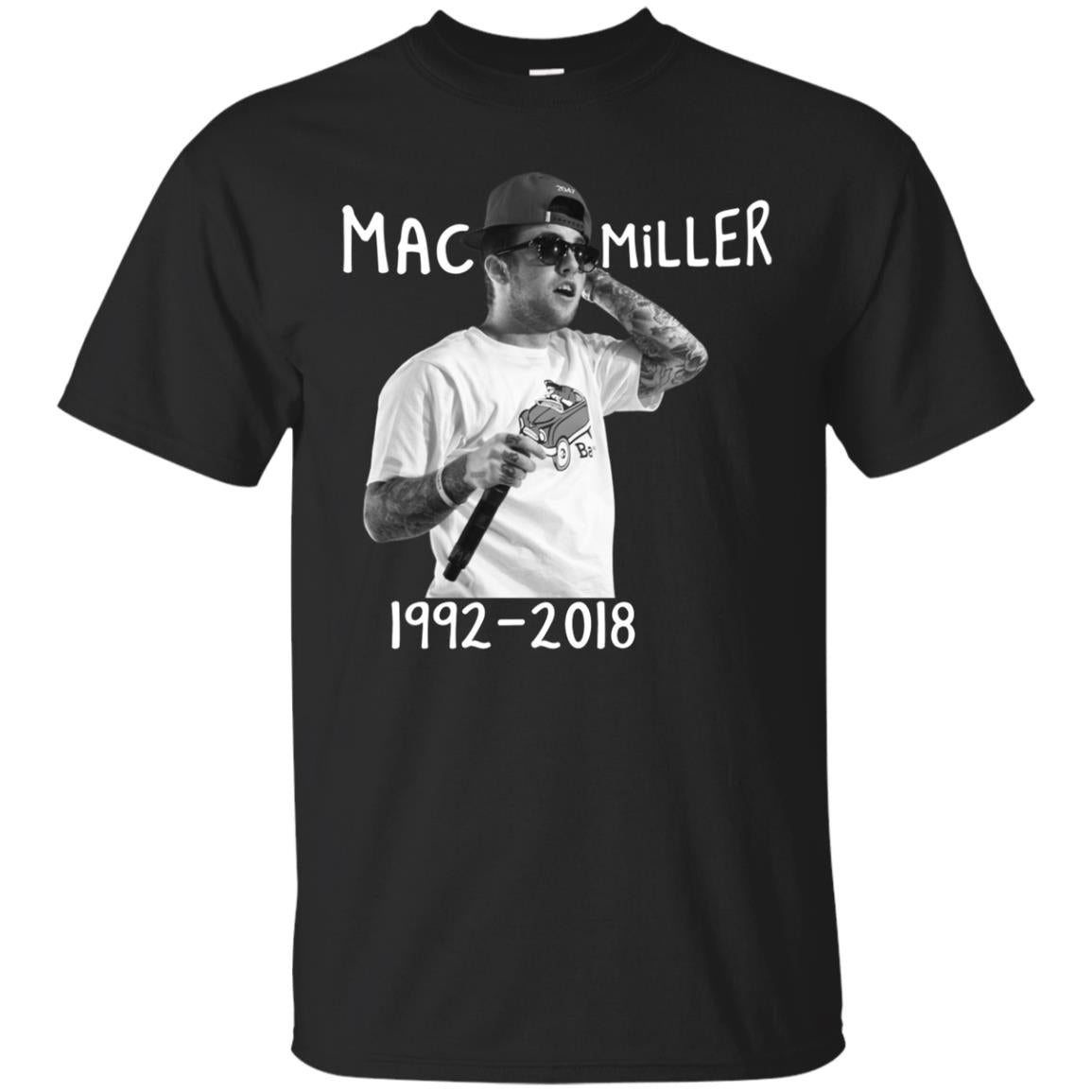 83e0a2cc6c132 You re viewing  Mac Miller Rip 1992 2018 Shirt  20.00 –  44.00