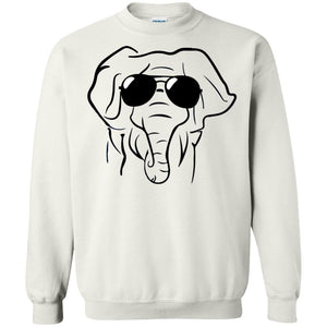 Elephant With Glasses Shirt